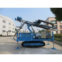 Quality Rotary System Drilling Rig Construction , Hydraulic Crawler Drilling Machine wholesale