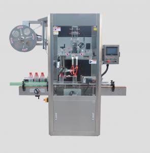 bottle label steam heating shrink tunnel, sleeve label applicator