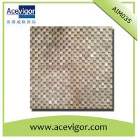 Quality Wood mosaic tile solid wood wall tile wholesale