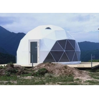 Quality 100km/H Wind Load 30M Waterproof PVC Geodesic Dome Tent wholesale