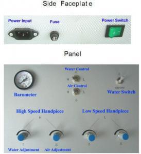 Cheap YS Dental Portable Turbine Unit Suction Work Air Compressor 3Way Syringe CE FDA for sale