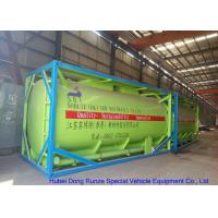 China Fluoboric Acid Transport Tank Container 20FT , ISO Bulk Container For Shipping on sale
