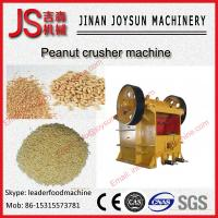 Quality SUS 304 Stainless Steel Peanut Crusher Machine 60 - 1200 t / h wholesale