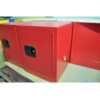 China Red Flammable Safety Cabinets 4 Gallon For Chemical Paint And Inks Storage on sale