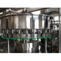 Cheap Durable Juice Filling Machine , Fruit Juice Processing Line SUS304 Stainless Steel Material for sale