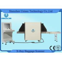 Quality Middle Size X Ray Baggage Inspection System With Tunnel Size 650mm*500mm wholesale