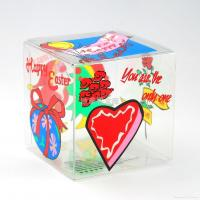Cheap cheap gift packaging clear boxes with customized size supplies in China for sale