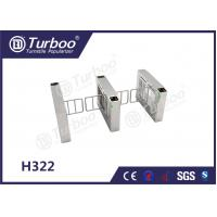 Quality Access Control Pedestrian Barrier Gate With Voice And Strobe Light Alerts wholesale
