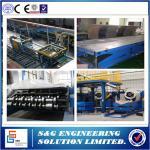 Quality Continuous PU Sandwich Panel Production Line PLC Control Rubber Belt wholesale