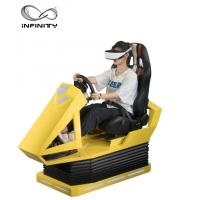 Quality Manual Operation VR Race car simulator Different Maps High Resolution VR Headset wholesale