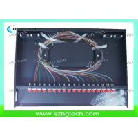 Quality 1U 36Core Optical Distribution Frame With 1.5M FC Fiber Optic Pigtail 0.9mm wholesale