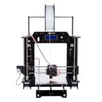 Quality High Printing Accuracy Mini PLA / ABS Filament DIY 3D Printers with Installation Tools wholesale