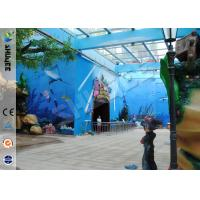 Quality Amusement Hydraulic / Electric System 4d Cinema With Digital Video Projector System wholesale