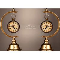 China Home / Office Decoration Ancient Style Table Clock Iron Material Made on sale