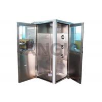 Quality 90 Degree L Design Clean Room Modular , Stainless Steel Air Showers And Pass Thrus wholesale