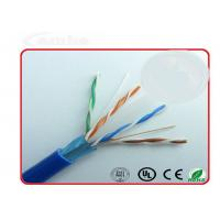 Quality FTP Oil Filled Ethernet Network Cable Cat6 305m With High Speed 1000Mbps wholesale