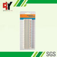 Quality white ABS Metal Solderless Breadboard 730 Points 16.6x4.4x0.85 mm wholesale