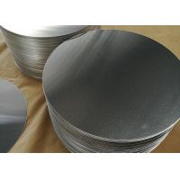 China 1.8mm 1100 Aluminum Circle Blanks , Fry Pan Lightweight Round Aluminum Discs on sale