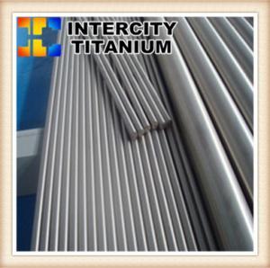 best price ASTM F136 Ti6Al4V Surgical Implant Titanium Rod China manfufacture