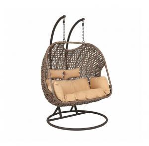 Quality Decorative SNUGLANE Depth 66cm Rattan Garden Swing Chair For Patio wholesale