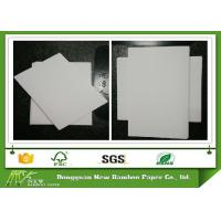 China Anti-Curl Paperboard Grey Back Duplex Board for package box printing on sale