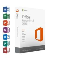 China DirectX 10 Office 2016 Product Key Card , OEM Retail Version Microsoft Office 2016 Pro Download on sale