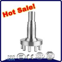 China Casing head forging stainless steel hollow shaft for machinery parts on sale