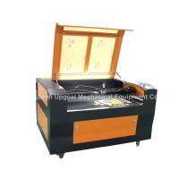 China Batch Precision Fabric Embroidery logo Co2 Laser Cutting Machine with CCD Camera on sale