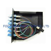 Quality LAN MPO and LC Adapters Fiber Optic Patch Panel High return loss MPO Cassettes wholesale