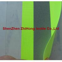 China High light Fluorescent oxford cloth reflective material heat transfer tape on sale