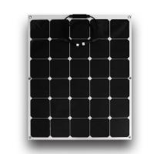 Quality Black 110 Watt Thin Flexible Solar Panels 90cm MC4 Connectors For Boat wholesale