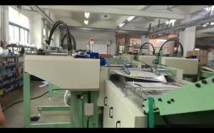 China 660mm 38kw Exercise Book Ruling Machine With Cover Feeder on sale