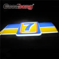 Quality Acrylic forming Blister restaurant front sign board wholesale