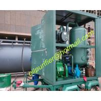 Quality mobile type vacuum transformer oil filtration equipment with car wheel trailer PLC wholesale