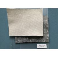 China Marshmallow 280gsm Needle Punched Non Woven Fabric Anti - Slip PVC Dots Coated on sale