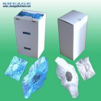 China Plastic Shoe Cover, PE, CPE Overshoes, Shoe Casing, Footwear For Shoe Cover Dispenser Machine on sale