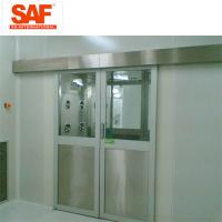 Quality Automatic Sliding Door Cleanroom Air Shower System Tunnel With Custom Width wholesale