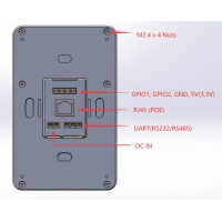 Quality China Manufacturer Android OS Customized Intercom Doorbell VESA Mount Android PoE Tablet wholesale