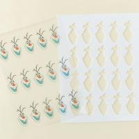 Quality Olaf Frozen Pre Cut Chocolate Transfer Sheet Molds A4 Size Food Grade wholesale
