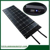 Quality 100w to 180w folding solar panel / foldable solar kits for big battery and vedio / camera with dual voltage controller wholesale