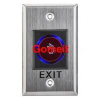Quality Infrared Long Door Release Switch / Exit Button Recessed Mounted wholesale