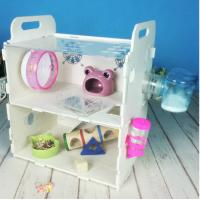 Cheap Customized Acrylic pet house acrylic reptile box hamster cage,double layers acrylic comfortable hamster cage for sale
