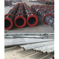 Quality Round Prestressed Concrete Poles Cement Electric Pole Making Machine wholesale