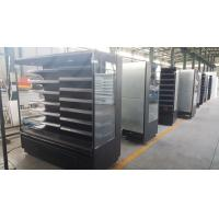 Quality China open display fridge companies Upright Beverage Open Air Refrigerated Display Cases wholesale