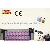 China Continuous Ink Supply Sublimation Fabric Plotter Dual CMYK Color High Efficiency on sale