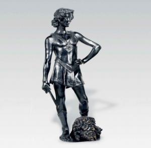 Quality Color Painted Indoor Metal Sculptures , Customized Bronze Sculptures Home Decor wholesale