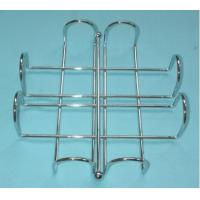 China home free standing spiral design kitchen/toilet metal paper towel holder/rack on sale