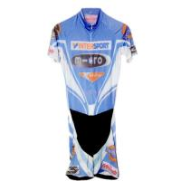 China Moisture Wicking Road Cycling Clothing , Anti - Chlorine Cool Cycling Kits on sale