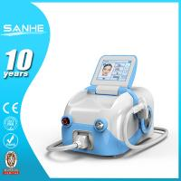 Quality 2015 great promotion portable 808 permanent paintlese diode laser hair removal made in San wholesale