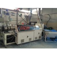 Quality Double / Twin Screw Extruder For PVC Roof Sheet Making Machine 0.3 - 3m / min wholesale